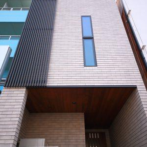 間口3.6m。13坪の3階建て都市型住宅