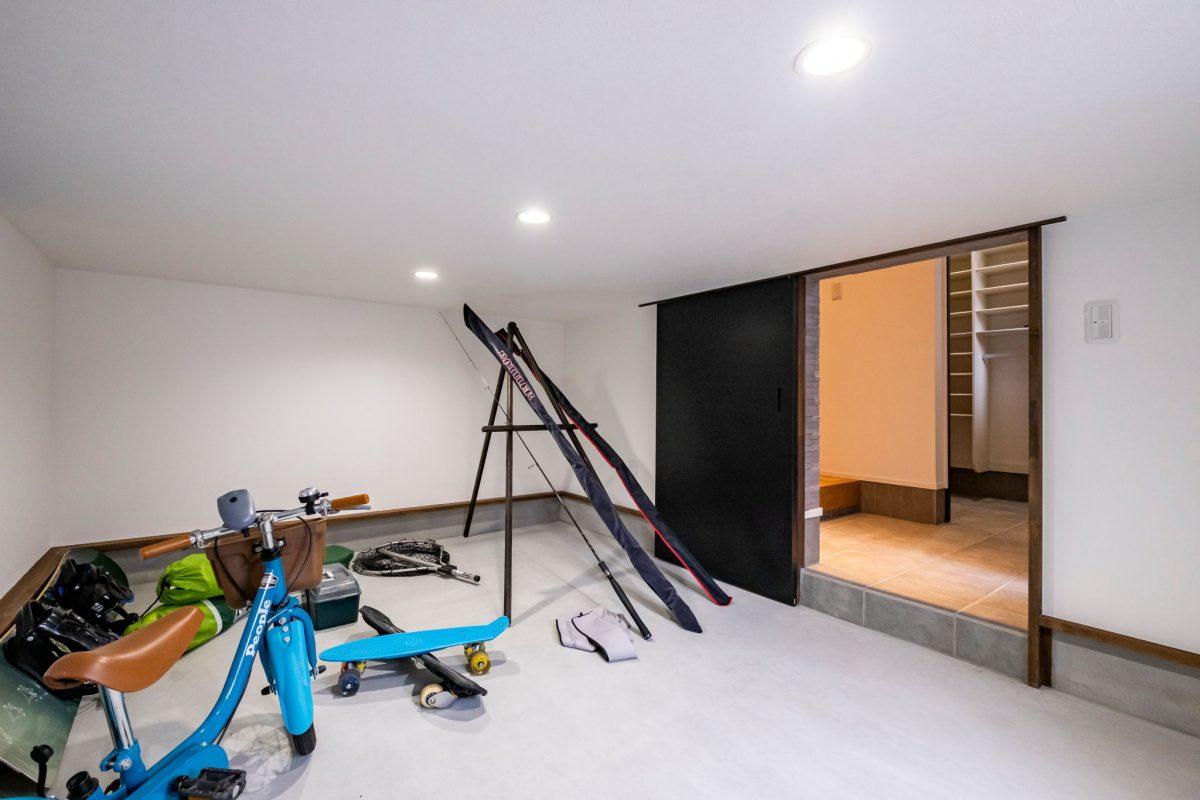 三和建設 清水区 静岡市 葵区 駿河区 新築 建売り プレゼンハウス 半地下収納 半地下
